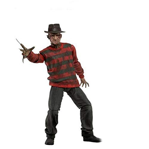 (PLAYER-C A Nightmare On Elm Street Freddy Krueger 30Th PVC Action Figure Collectible Toy 7)