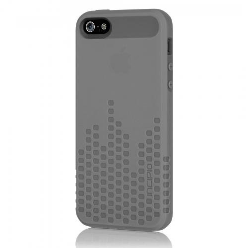 low priced b106b 6caba Incipio IPH-804 Frequency for iPhone 5-1 Pack - Retail Packaging - Grey