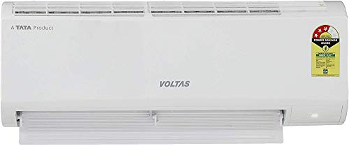 Voltas 1 Ton 3 Star Inverter Split AC (Copper 123V_DZX White)