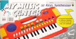 My Music Center 32 Key Synthesizer Electronic Organ Piano Electronic Music Pi... (Two Organs)