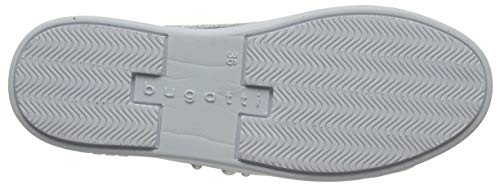 4 1300 Femme 32407e Sneakers Basses 11 silver Bugatti Argenté FqdHF