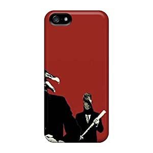 Iphone 5/5s RWY952lbhC Support Personal Customs Vivid Foo Fighters Pattern Shockproof Hard Phone Cases -SherriFakhry