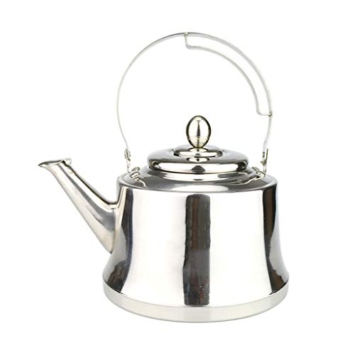 Factory Direct Thick Food Grade Stainless Steel Piano Sound Kettle Kettle Whistle Tea Kettle Boil Gas Induction Cooker Universal 2.5L