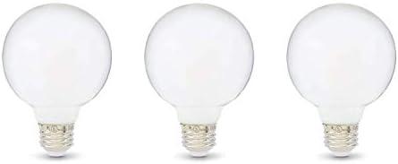Pack of 3 SYLVANIA Home Lighting 15345 Incandescent Bulb Medium Base Soft White Finish G25-40W