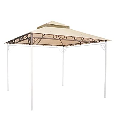 10u0027x10u0027 Waterproof Gazebo Top 2 Tier Replacement UV30+ Outdoor Yard Canopy Cover  sc 1 st  GoSale.com & quest 10x10 replacement canopy | Compare Prices on GoSale.com