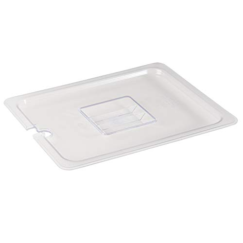 (Update International PCP-50CHC Polycarbonate Food Pan Cover, Half Size, Notched, Polycarbonate)