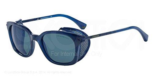 Emporio Armani, Lunettes de Soleil Mixte Blau (Blue 520896)