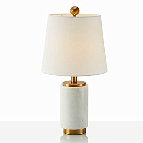 Amazon Com Metal Marble Decorative Table Lamp Us Chinese
