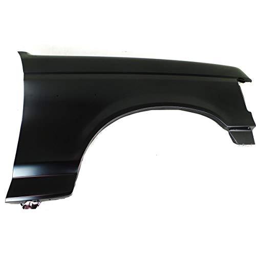 (Fender For 1987-1991 Ford F-150 F-250 Front Passenger Side Primed Steel )
