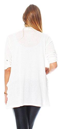Brendy - Cárdigan - para mujer Weiß