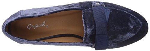 Quplid Dames Regent-11 Loafer Plat Donkerblauw