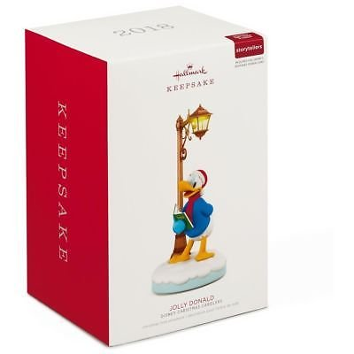Hallmark 2018 Disney Christmas Carolers Jolly Donald Keepsake (Christmas Merry Duck)