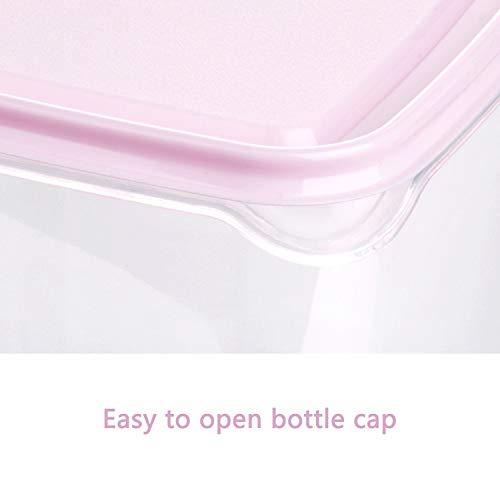 ZOEON Juegos de Recipientes para Alimentos Recipientes para Cereales Sin BPA Apta para Lavavajillas y Microondas Set de 17
