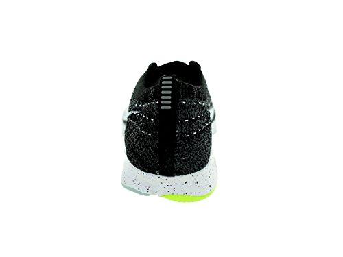Nike Wmns Flyknit Zoom Agility, Zapatillas de Tenis para Mujer Black/White/Dark Grey/Volt
