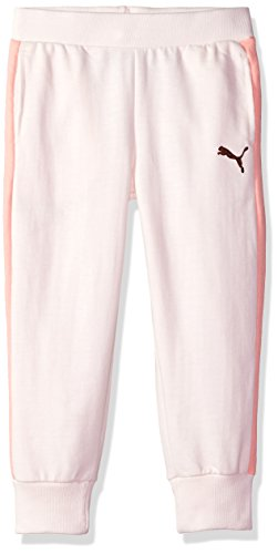PUMA Little Girls' Archive Logo T7 Capris, Pearl, -