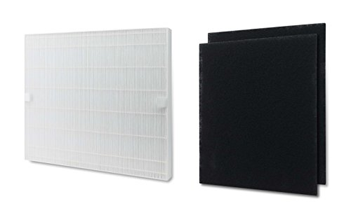 Replacement HEPA Filter With Carbon Pre Filter Compatible With Coway Mighty Air Purifier AP-1512H