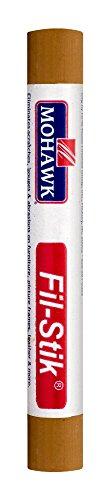 (Mohawk Fill Stick (Fil-Stik) Putty Stick for Wood Repair (Heritage Oak)- Rub On Semi-Soft Wax Filler Stick)