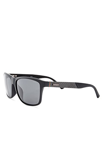 Gucci - GG 1060/N/F/S ASIAN FIT, Geometric, injection/propionate, men, BLACK/GREY SHADED POLARIZED(CBU/RA), - Gucci Polarized