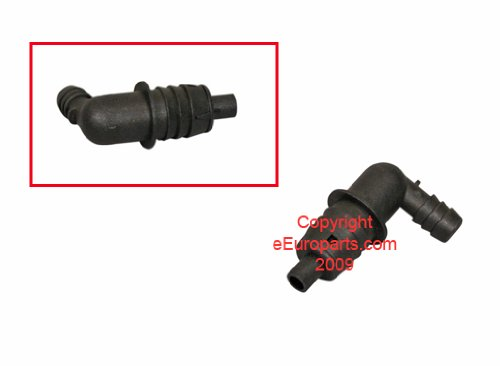 BMW e34 525 Elbow Connector for Breather Hose GENUINE new