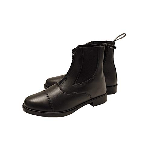 Horseware Short Riding Boot Zip Kids Black 38 EUR