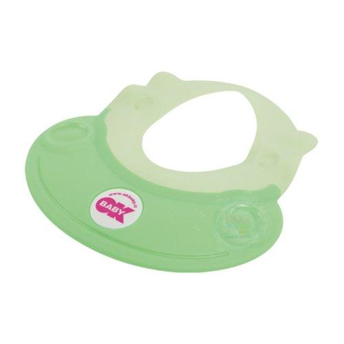 OkBaby Hippo Schampoo Schutz, Shampoo Schutzschild, Shampoo Hut grün