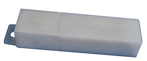 Warner 10805 8-Point Snap-Off Blades 50 in Plastic Tube on Blister Card, 18mm