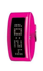 Black Dice GURU BD 044 07 - Reloj unisex de cuarzo, correa de plástico color rosa