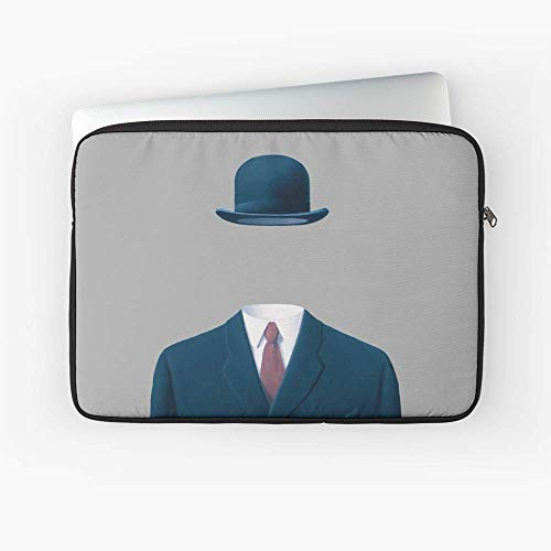 (Man in A Bowler Hat by Artwork for Prints Posters Ts Bags Men Women Kids Laptop Sleeve)