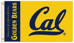 BSI Products, Inc. - Cal Berkeley Golden Bears- 3 Ft. x 5 Ft. Flag w/ Grommets from BSI Products, Inc.