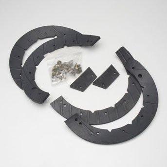 - MTD Genuine Part 753-0613 Genuine Parts Snow Thrower Auger Rubber Replacement Kit OEM part for Troy-Bilt Cub-Cadet Craftsman Bolens Remington Ryobi Y