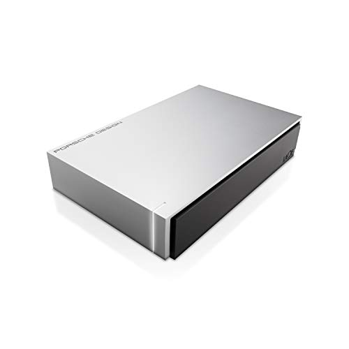LaCie Porsche Design 4TB USB 3.0 Desktop Hard Drive + 2mo Adobe CC Photography (STEW4000400)