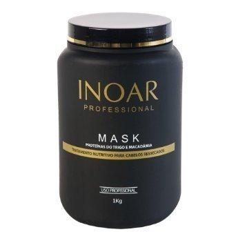 INOAR Brasilianisches Haarmaske Protein und Macadamia M34