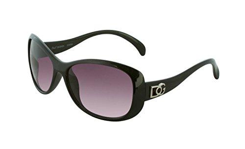 DG Eyewear Sunglasses for Women Fashion - Assorted Styles & Colors (Black, - Sunglasses Female
