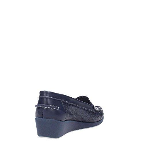 MELLUSO - Mocasines para mujer azul Size: 41
