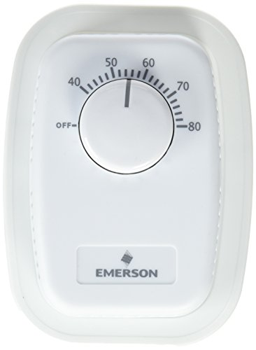 Emerson B50 Mechanical Dual Pole Line Voltage Thermostat Double Pole Line Voltage Thermostat