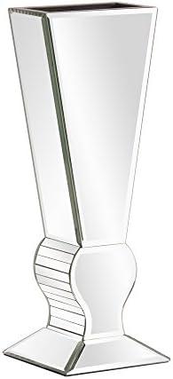 Howard Elliott 99012 Mirrored V-Shaped Vase