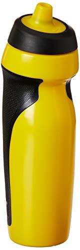 Squeeze Sport Water Bottle 600Ml, Único, Preto/Amarelo