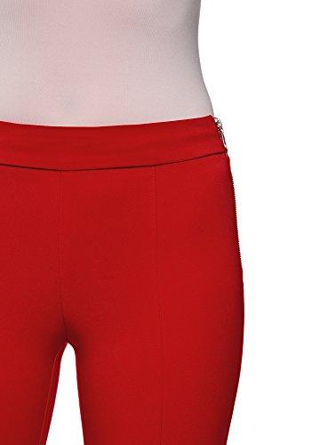 Rouge Oodji Pantalon Fit Ultra Femme Slim 4501n Basique rY4q18Ypw 43934cd4d6d