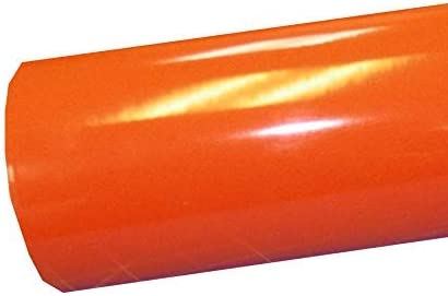 Amazon Com 12 X 10 Ft Roll Of Glossy Oracal 651 Orange Vinyl For Craft Cutters And Vinyl Sign Cutters Arts Crafts Sewing