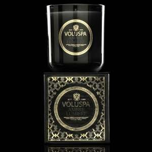 Voluspa Ambre Lumiere Classic Maison Candle, 12 Ounce by Voluspa