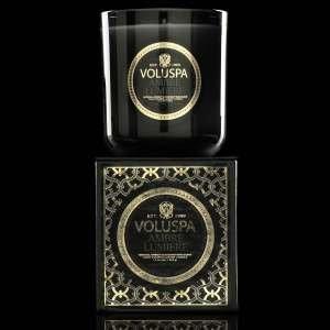 - Voluspa Ambre Lumiere Classic Maison Candle, 12 Ounce
