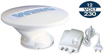 Teleco – Wing antena omnidireccionable 360 12/24/230 V con ...