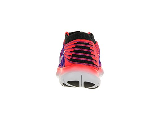 Nike Free Rn Motion Flyknit, Zapatillas de Running para Hombre Bright Crimson/White/Racer Blue/Black