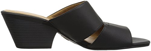 Natural Soul Womens Dedee Slide Sandaal Zwart