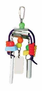 Prevue Pet Products BPV62160 Chime Time Bird Toy, Medium/Large, Summer Breeze