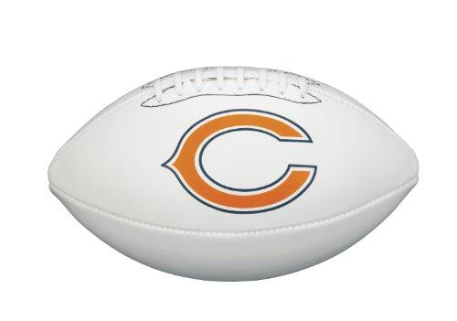 Nfl Team Bear - NFL Team Logo Autograph Football Chicago Bears