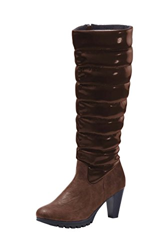 Boots with quilted Shaft from Chillany - Color Brown Brown
