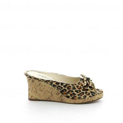 Ideal Shoes, Damen Sandalen Schwarz - Schwarz