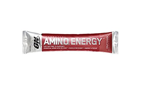 Optimum Nutrition Single Serve Packets Amin.O. Energy & 100% Whey Mix & Match Your Favorites (Fruit Fusion)