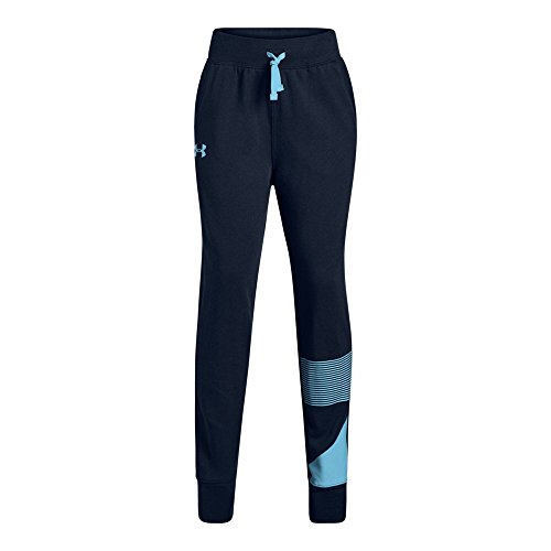 Under Armour Girls Rival Jogger, Academy (409)/Venetian Blue, Youth X-Small
